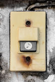 Old door bell Royalty Free Stock Image