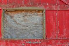 Old Door and Broken Window Stock Photography