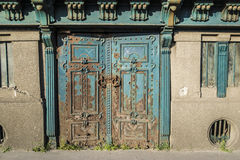Old door in Budapest Stock Photos