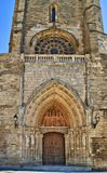 Old Door of Burgos Cathedral Royalty Free Stock Photo
