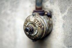 Old Door Buzzer Stock Image