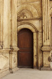 Old door in castel Royalty Free Stock Photos