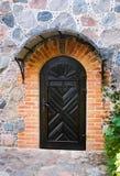 Old door in the castle Stock Photos