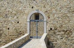 Old door of a castle Stock Photo
