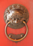 Old door chinese antique Royalty Free Stock Photography
