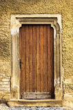 Old door of church Stock Photography