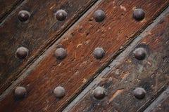 Old Door Closeup Royalty Free Stock Photos