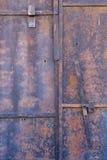 Old Door Closeup Stock Photography