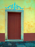 Old door color Royalty Free Stock Image