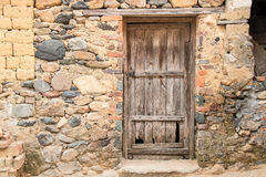 Old door in country. An old door in country Royalty Free Stock Photography