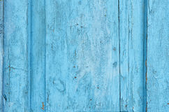 Old door. Old cracked painted wooden door and shabby about time Royalty Free Stock Photography