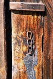 Old door detail Royalty Free Stock Images