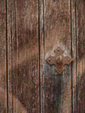 Old door detail Royalty Free Stock Image