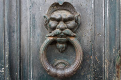 Old door detail Stock Image
