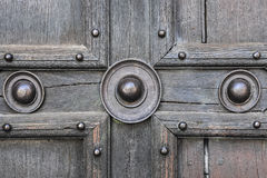 Old door detail Stock Photography