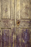 Old door detail Royalty Free Stock Photos