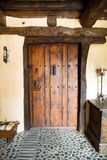 Old door entrance to a house Stock Photography