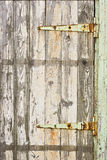 An old door with flaking paint Stock Photo