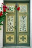 Old door in Friedrichshafen, Germany Royalty Free Stock Photos
