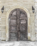 Old door or gates. Stock Image