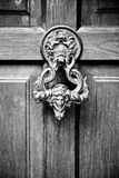 Old door handle Stock Photos