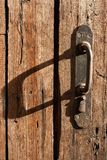 Old door handle. Close up Royalty Free Stock Photos