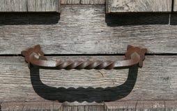 old door handle Stock Image
