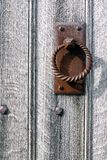 An old door handle Royalty Free Stock Image