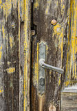 Old door handle Stock Images