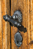 Old door handle Stock Photography