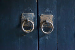 Old door handle Royalty Free Stock Photos