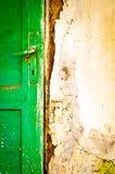 Old door handle detail Stock Image