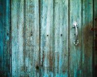 Old Door handle with an old door Stock Photo