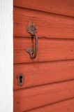 Old door handle Royalty Free Stock Images