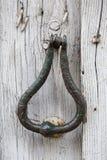 Old door handle Stock Images