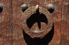 Old door handle Stock Photography