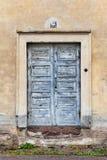 Old door. That has seen better days stock image