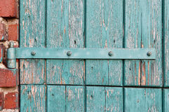 An old door hinge. Royalty Free Stock Images