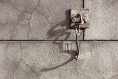 Old door hook Stock Image