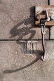 Old door hook Stock Photo