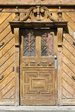 Old door in Hungary. Szeged, Hungary. City in Csongrad county. Old door Royalty Free Stock Photo