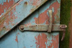 Old door II. Old door close-up Royalty Free Stock Photography