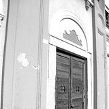 old door in italy land europe architecture and wood the historic Royalty Free Stock Images