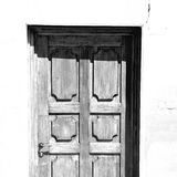 old door in italy land europe architecture and wood the historic Stock Photos