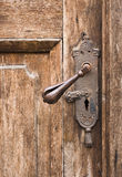 Old door knob Stock Images