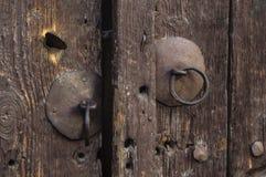Old door knob. Detail of an old door knob Royalty Free Stock Photo