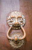 Old door knocker in Cagnes-sur-Mer Stock Photography