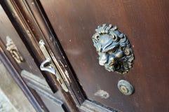 Old door knocker Stock Image