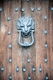 Old door knocker Royalty Free Stock Images
