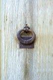 Old door knocker Stock Photo